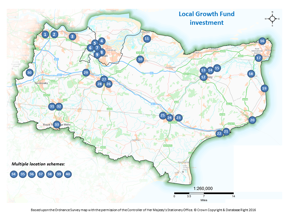 LGF investment locations
